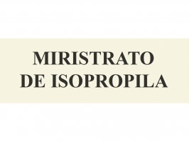 MIRISTRATO DE ISOPROPILA 100 ML
