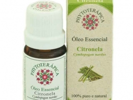OLEO ESSENCIAL DE CITRONELA 10ML